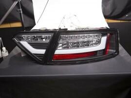 Audi A5 07-11 Фонари lightbar design черные