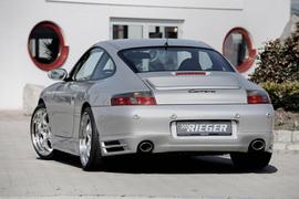 Porsche 911 (996) 97-01 купе/кабрио Накладка на задний бампер