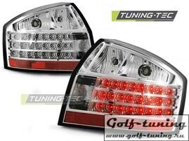 Audi A4 00-04 Фонари светодиодные, хром