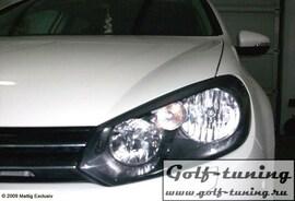 VW Golf 6 Ресницы на фары