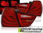BMW E90 09-11 Фонари светодиодные, красные Lightbar с светодиодным поворотником