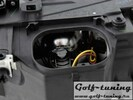 BMW E46 2Дв 01-05 Фары с линзами и ангельскими глазками черные