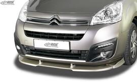 Citroen Berlingo 15-18/Peugeot Partner 15-18 Накладка на передний бампер VARIO-X