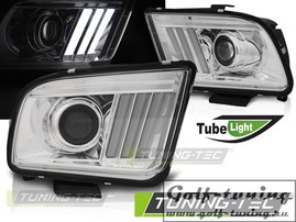 Ford Mustang 04-09 Фары tube light design хром