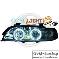 BMW E39 95-00 Фары с CCFL ангельскими глазками и линзами хром