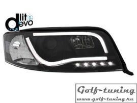 Audi A6 4B 01-04 Фары Devil eyes, Dayline черные D-LITE EVO