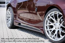 BMW Z4 03-09 Накладки на пороги Carbon Look