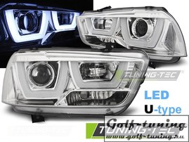 Dodge Charger LX 2 11-15 Фары Light tube design хром