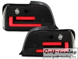 BMW E36 Купе/кабрио Фонари светодиодные, тонированные lightbar design