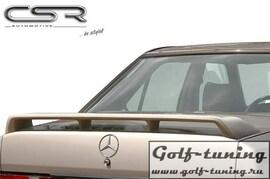 Mercedes W201 82-93 Спойлер на крышку багажника X-Line design