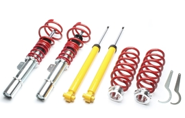 Audi A3, TT / Seat Leon III / Skoda Octavia A7, Superb III / VW Arteon, Golf VII, Passat, Touran 12- Винтовая подвеска c регулировкой по высоте