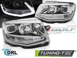 """VW T6 15- Фары """"original LED look"""" хром"""