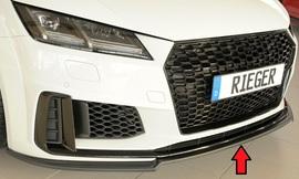 Audi TT/TTS (8J-FV/8S) S-Line 18- Накладка на передний бампер/сплиттер