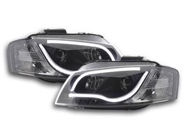 Audi A3 8P 03-08 Фары lightbar design черные