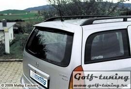 Opel Astra G Универсал Спойлер на крышку багажника