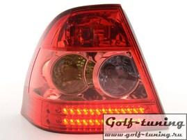 Toyota Corolla 02-04 Хэтчбэк Фонари светодиодные, красные