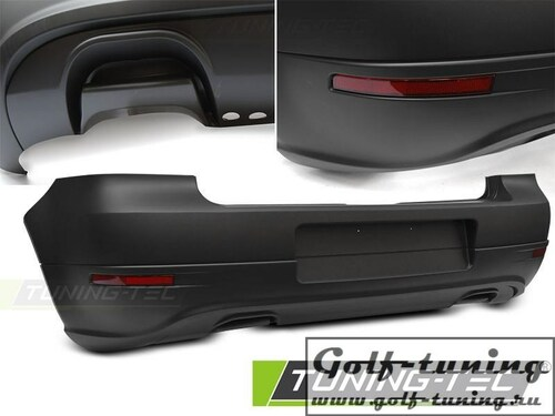 VW Golf 4 Бампер задний в стиле Golf 5 R32