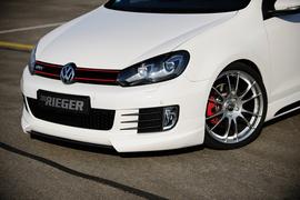 VW Golf 6 GTI/GTD Спойлер переднего бампера