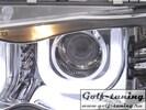 BMW E46 4Дв 01-05 Фары с линзами и ангельскими глазками хром