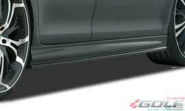AUDI A4 B7 Накладки на пороги Edition
