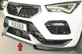 Seat Ateca Cupra 5FP 20- Сплиттер для переднего бампера cupra
