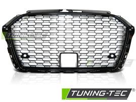 AUDI A3 8V 17- Решетка радиатора в стиле RS3 глянцевая