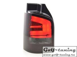 VW T5 GP 09-15 Фонари светодиодные, красно-тонированные