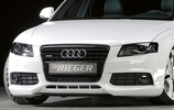 Audi A4 B8 07-11 Накладка на передний бампер