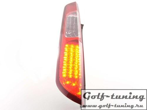 Ford Focus 08-11 5Дв Фонари светодиодные, красно-белые