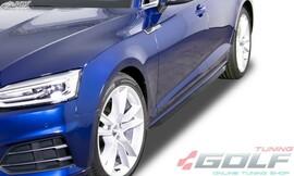 Audi A5 (F5) Coupe/Cabrio/Sportback Накладки на пороги Slim