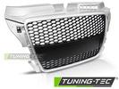 Audi A3 8P 08-12 Решетка радиатора RS-TYPE серебристая