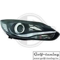 Ford Focus 3 11-15 Фары Lightbar design черные