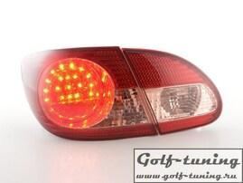 Toyota Corolla 03- Фонари светодиодные, красные