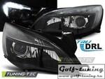 Opel Astra J 5Дв 09-15 Фары с линзами черные