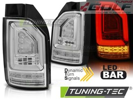 VW T6 15- Фонари светодиодные, led bar design хром
