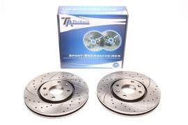 Citroen C5 Phase I+II/Xantia Typ X1+X2 Комплект спортивных тормозных дисков