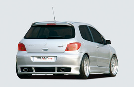 Peugeot 307 Накладка на задний бампер