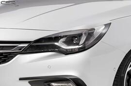 Opel Astra K 15- Реснички на фары