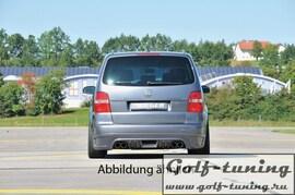 VW Touran 1T 03- Накладка на задний бампер Carbon Look