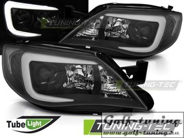 Subaru Impreza GH 07-12 Фары tube light design черные