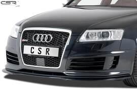 Audi RS6 C6 08-10 Накладка на передний бампер глянцевая
