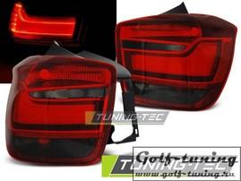 BMW F20/F21 11- Фонари светодиодные, красно-тонированные Lightbar