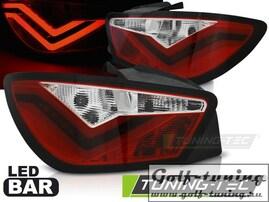 Seat Ibiza 6J 3D 08-12 Фонари светодиодные, красно-белые Led bar design