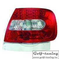 Audi A4 B5 95-00 Седан Фонари светодиодные, красно-белые