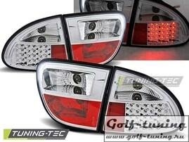 Seat Leon 99-04 Фонари светодиодные, хром