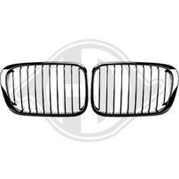 BMW E46 98-01 Решетки радиатора (ноздри) глянцевые