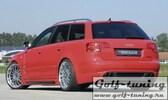 Audi A4 B6/B7 00-08 Седан/Универсал Накладки на пороги Carbon Look