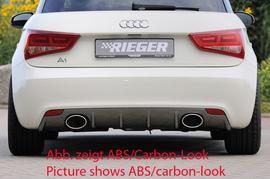 Audi A1 8X 10-14 Накладка на задний бампер/диффузор
