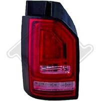 VW T6 15- Фонари светодиодные, led bar design красно-белые