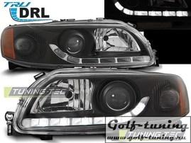 Volvo S60 / V70 00-04 Фары с линзами черные